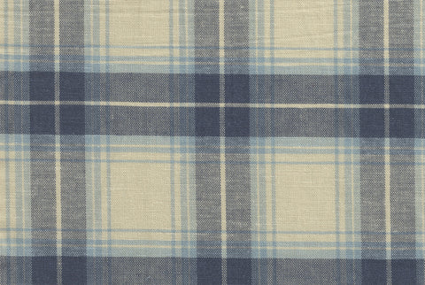 Ecru Grey Light Plaid