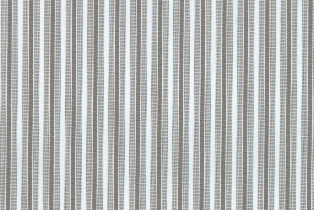 Natural Wrinkle Free - Grey Dress Stripes