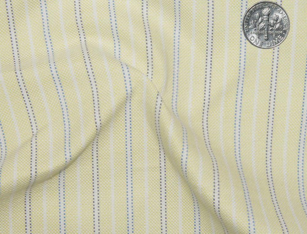 Classic Oxford: Pale Yellow with Blue Stripes (304104617)
