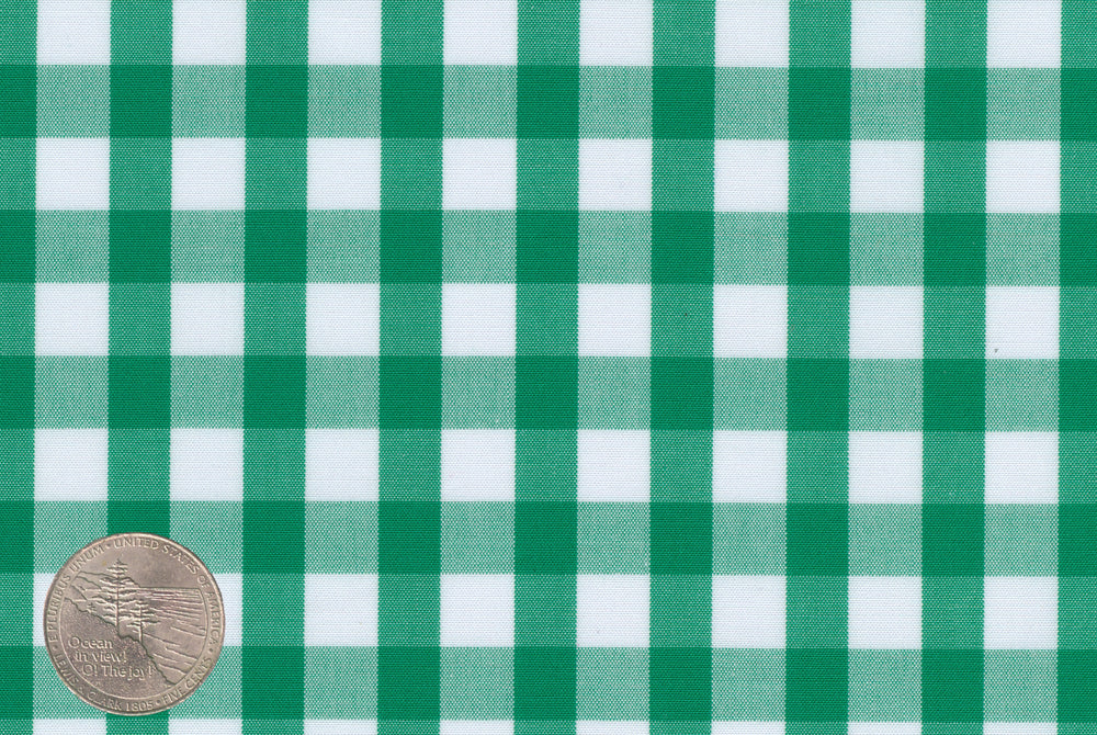 Monti - Green Gingham