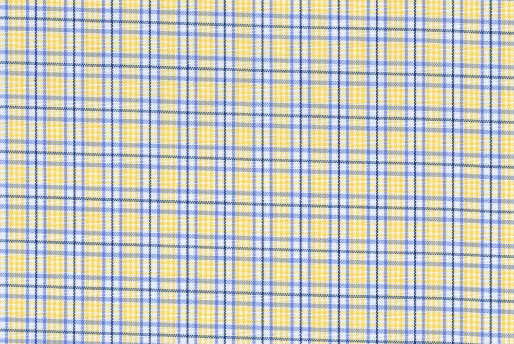 Yellow Blue Tattersall