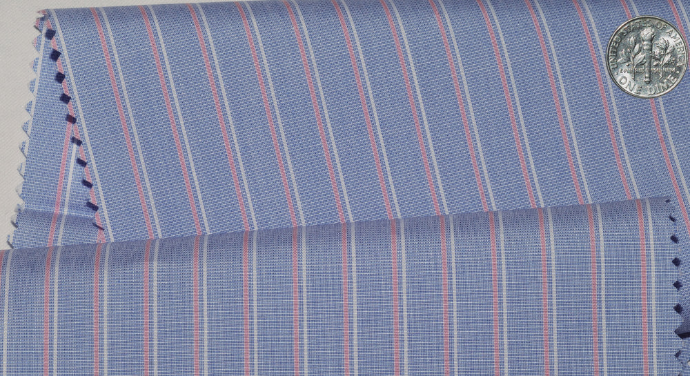 Monti Shadow Stripes On Blue end-on-End
