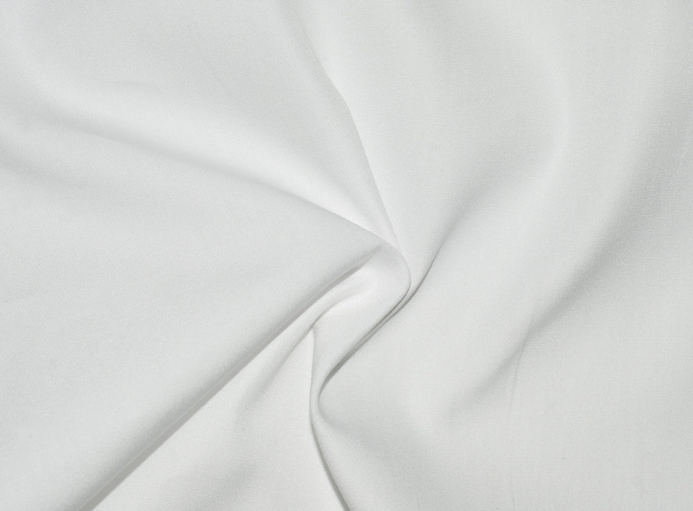 Monti Soft White Plain Poplin (272561297)
