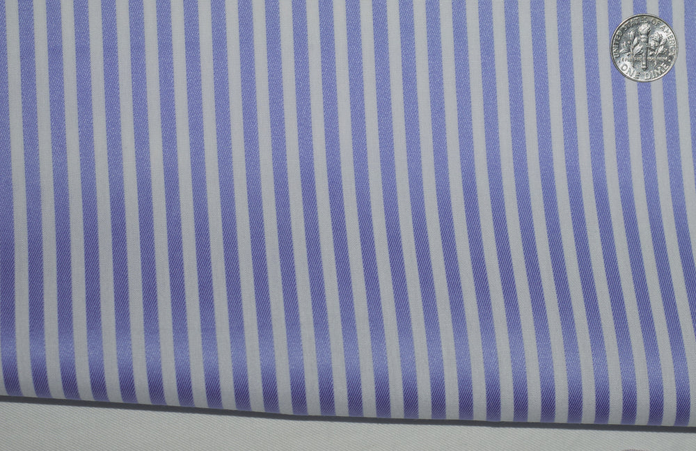 Zegna Soft Blue Candy Stripes