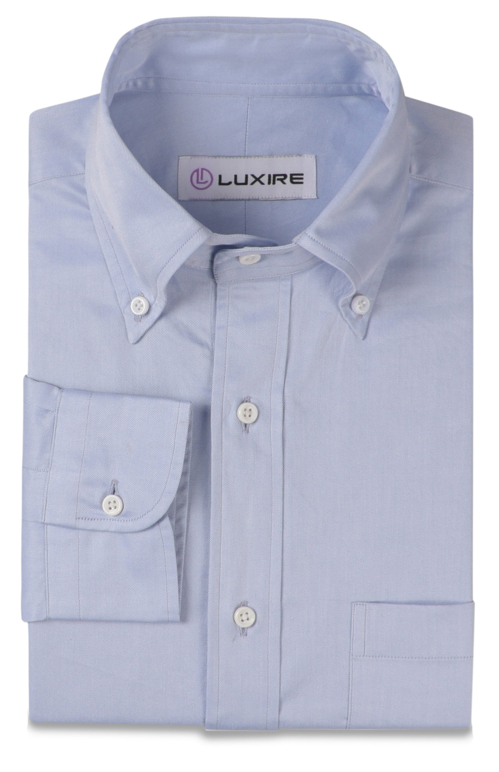 Business Shirt-Light Blue Twill (163012123)