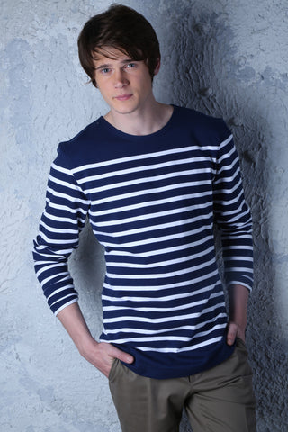 Navy White stripes Jersey