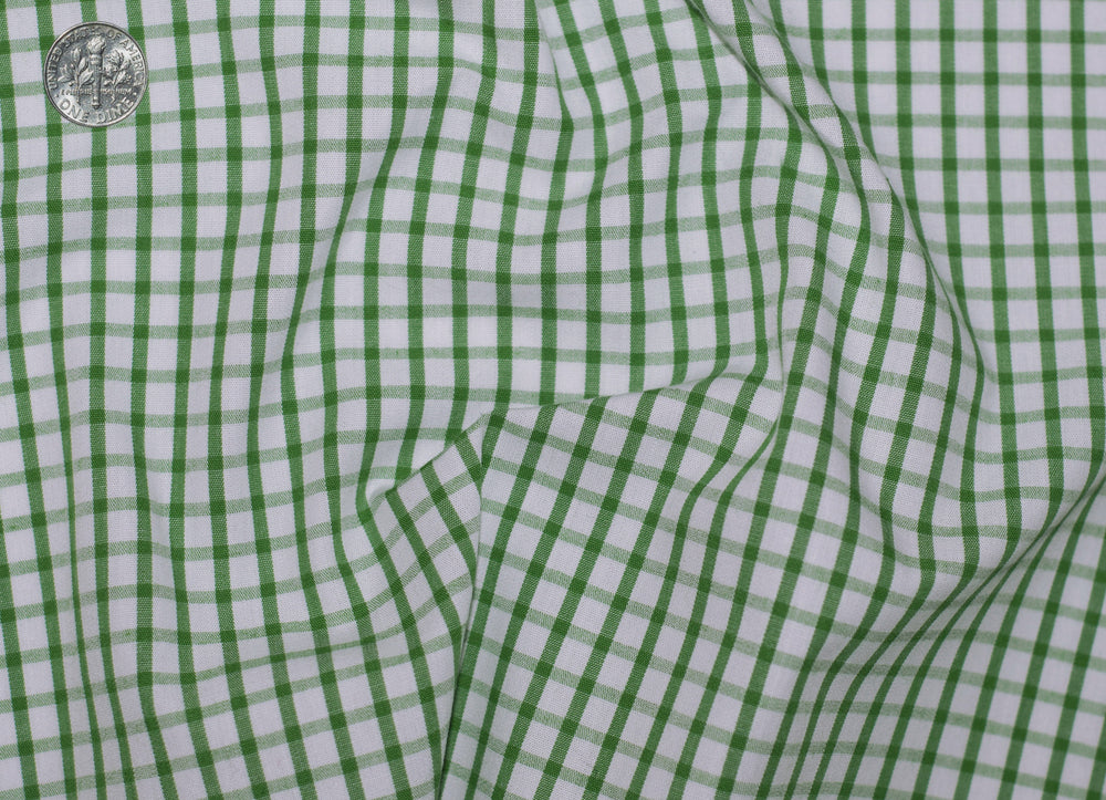 Friday Shirt: Green Graph Checks (228922053)