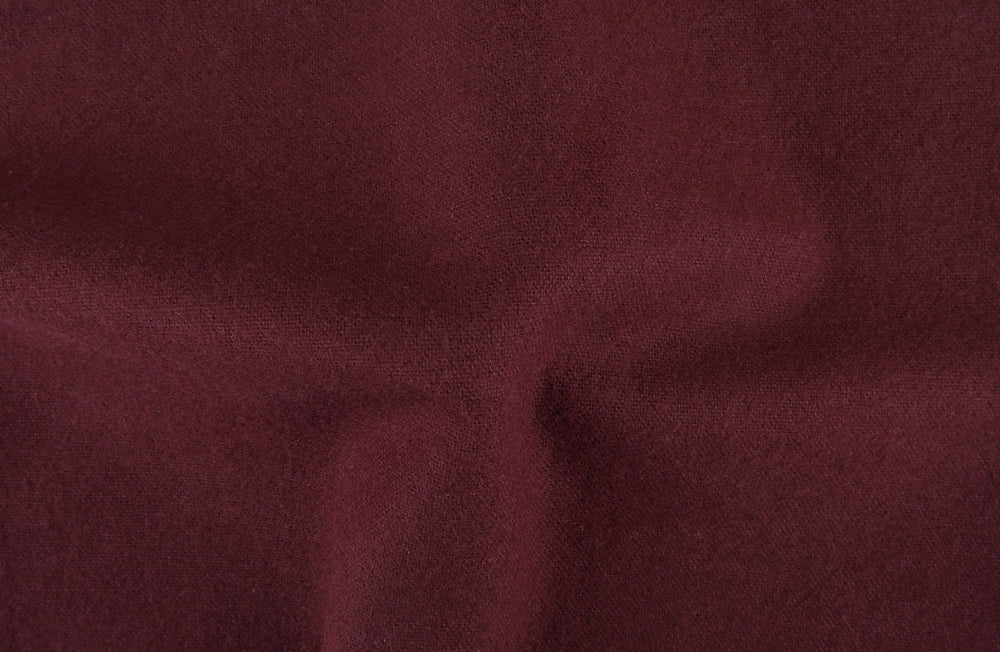 Maroon Cotton Flannel Pajama Set