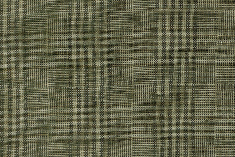 Field Drab Glen Plaid Linen
