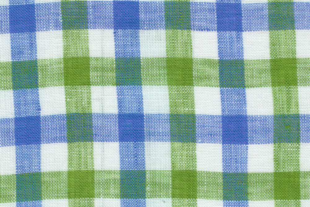 Green Blue Gingham