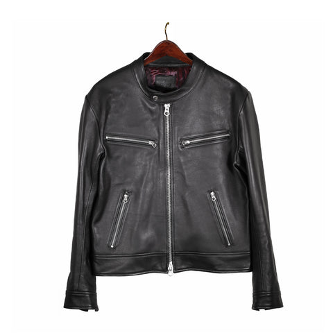 Styleforum+Luxire: Leather Moto Jacket MTM