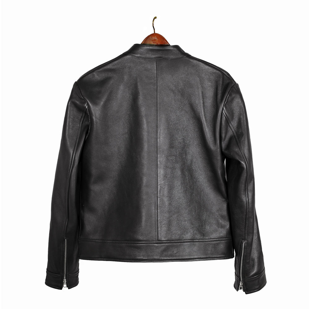 Styleforum+Luxire: Leather Moto Jacket