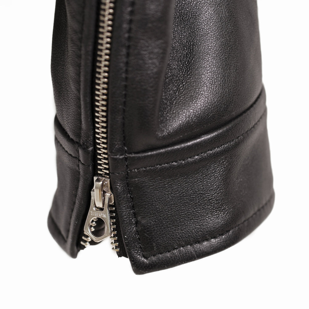 Styleforum+Luxire: Leather Moto Jacket (4765057028)