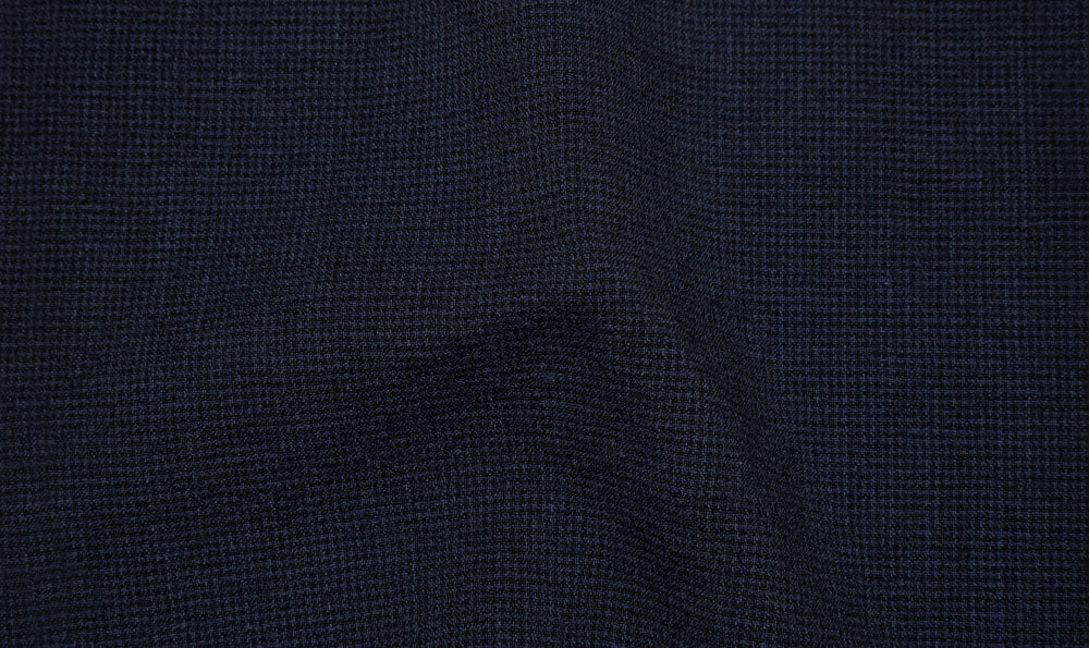 Zegna: Dark Blue Seersucker