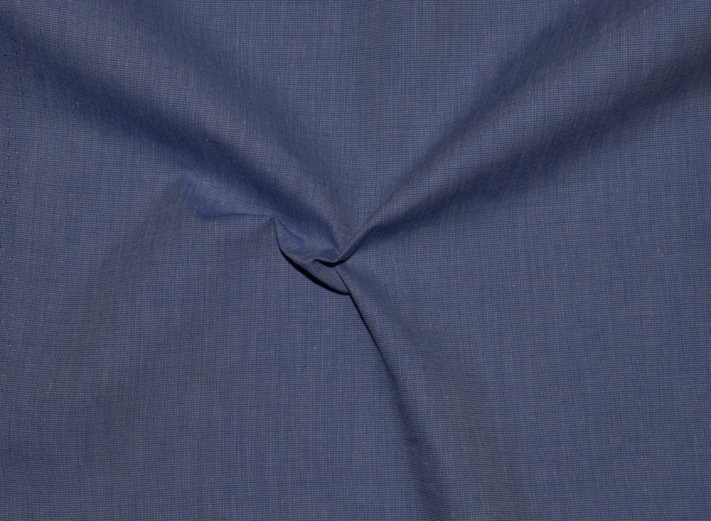 Skipper Blue End on End Dress Shirt