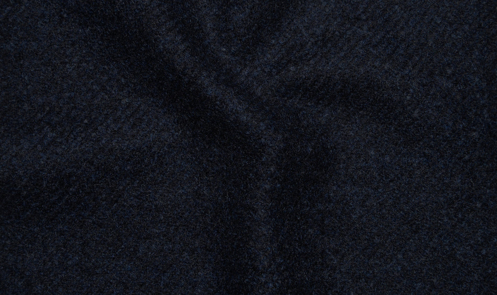 Loro Piana: Dark Blue Flannel