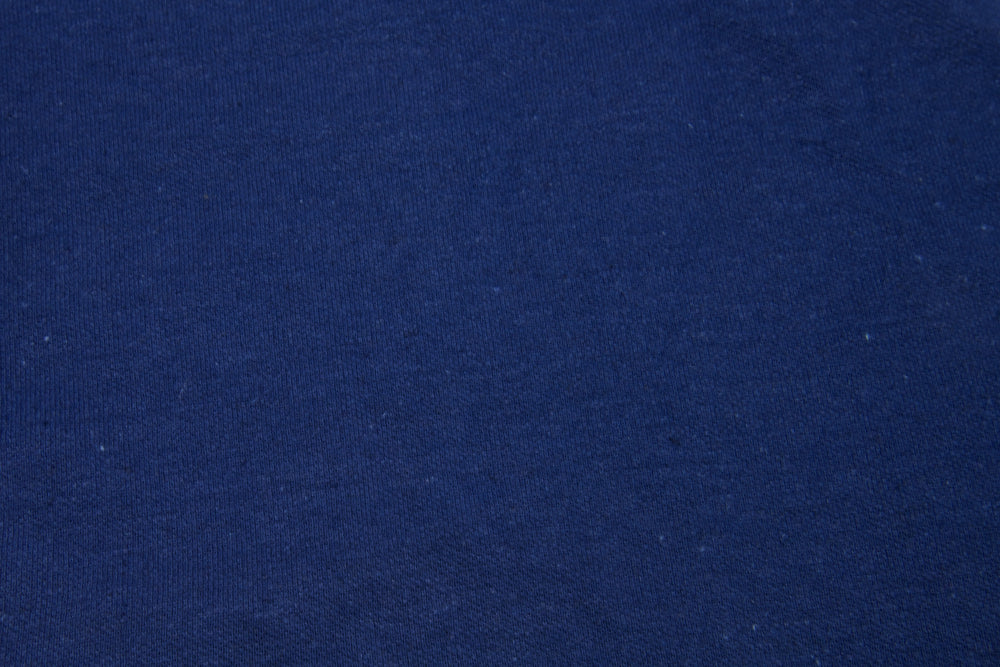 Linen-Cotton: Navy Polo (329596565)