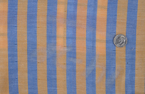 Twill: Yellow Blue Stripes