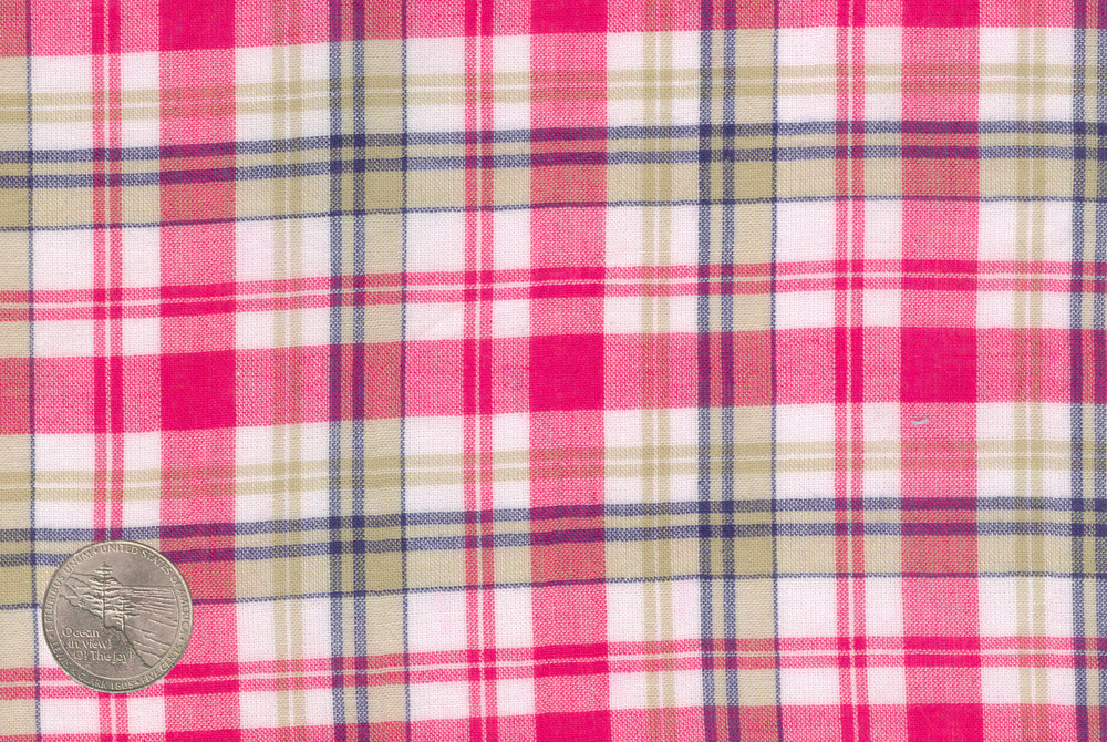 Summer Light Pink Madras