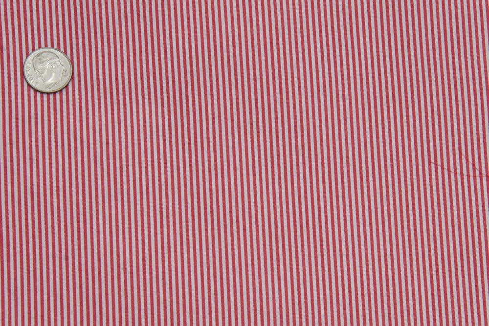Albini Red Pencil Stripes (332254753)
