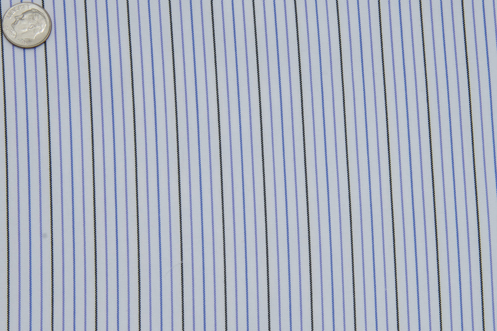 Monti Black Blue Pinstripes (332256037)
