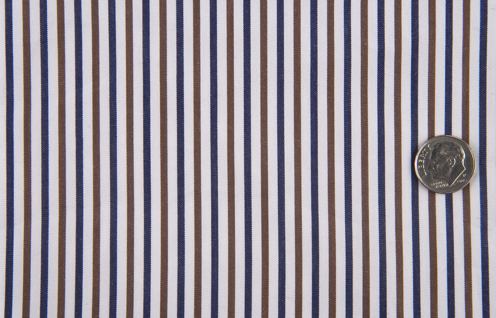 Blue Brown White Candy Stripes (992397316)