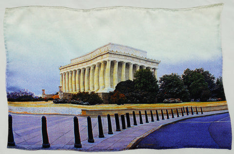 Lincoln Memorial Pocket Square