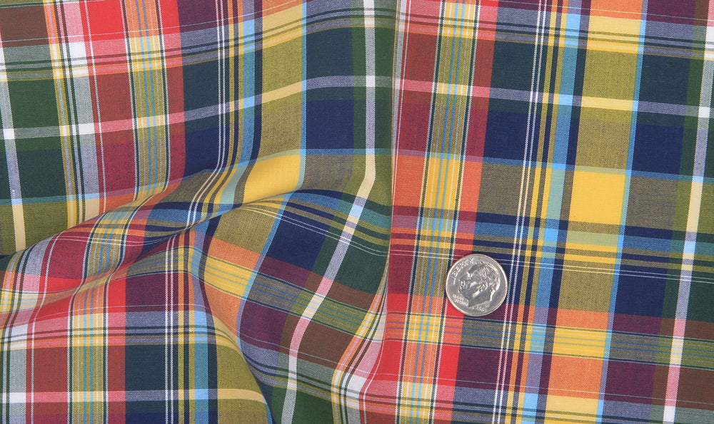 Multi-Color Madras Checks