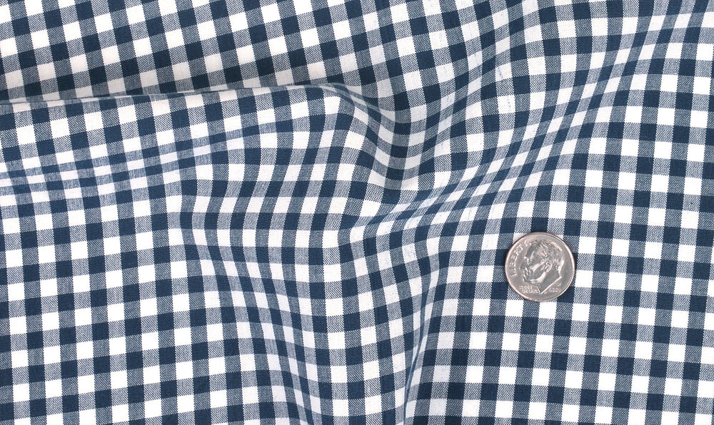 Dark Blue White Gingham Checks (4572318020)