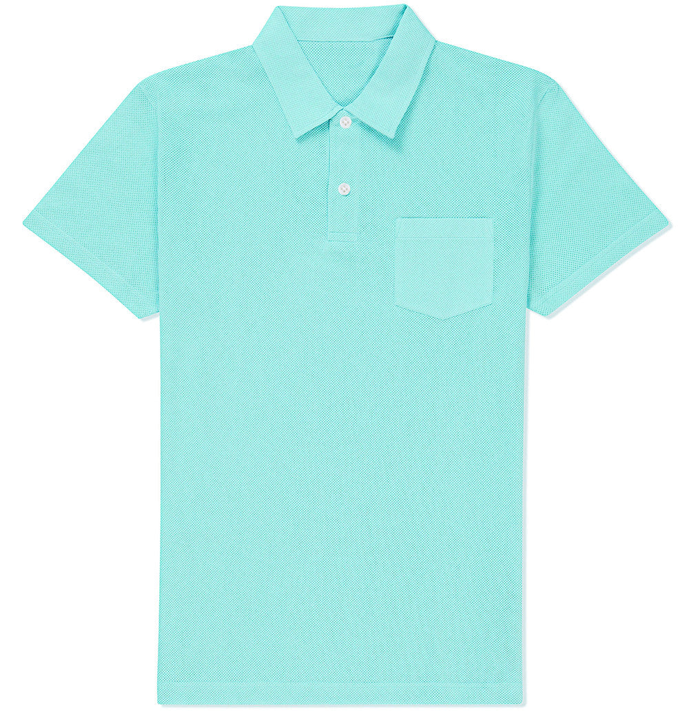 Ice Blue Polo T-shirt
