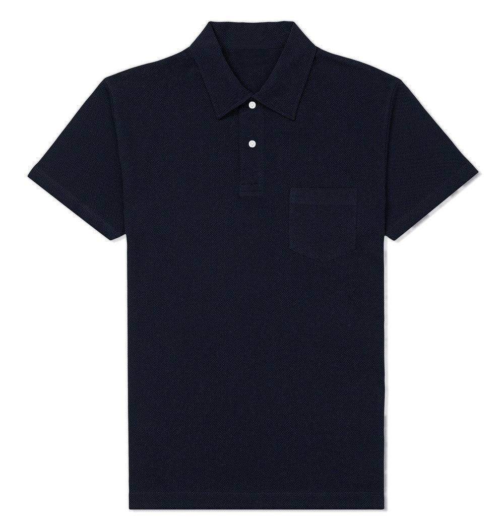 Ocean Blue Polo T-shirt