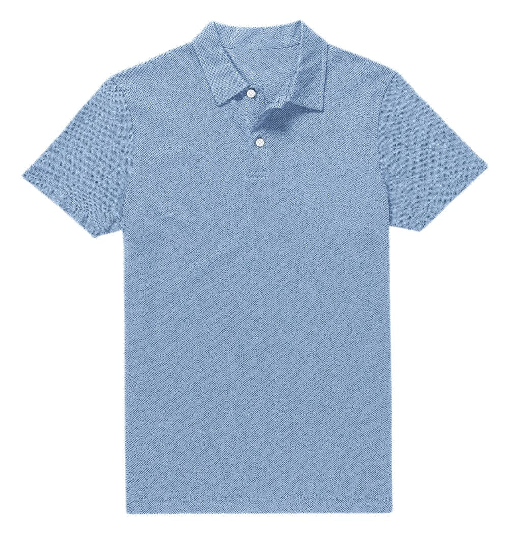 bc87f8269 Polo Light Blue Dotted – Luxire Custom Clothing