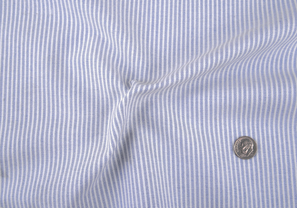 Classic Oxford: Navy University Stripes