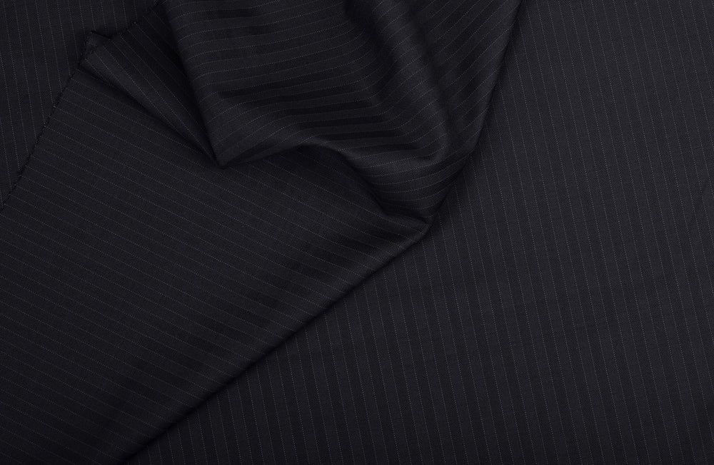 Vitale Barberis Canonico- 150s Shades Of Black Self Stripes (3652464388)