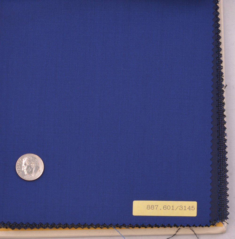Vitale Barberis Canonico - Prunnelle 110s Royal Blue Twill (454178292)