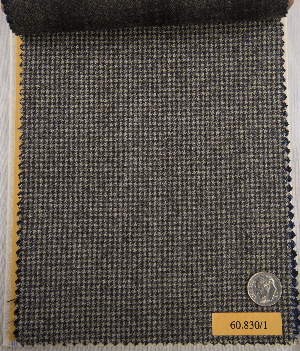 VBC Soft Wool Grey Houndstooth