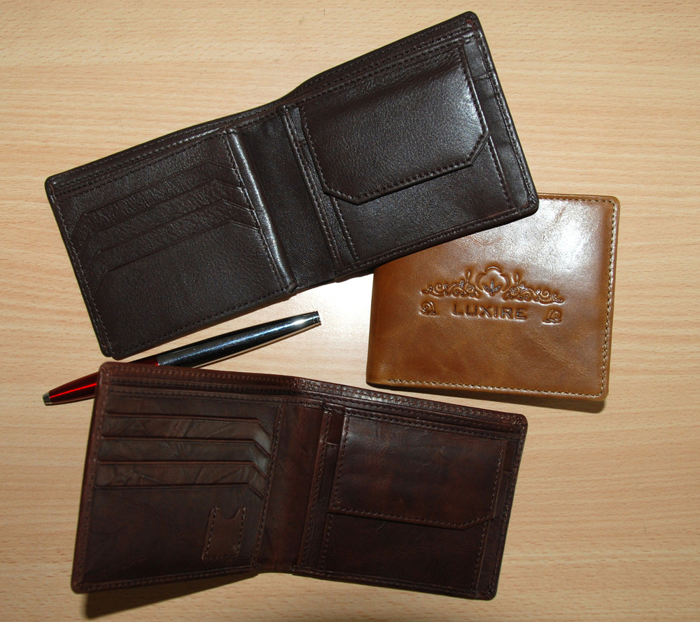 Luxire Leather Wallet 2013 Collection