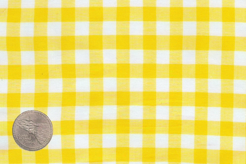 Summer Light Yellow Gingham