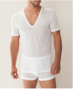 Zimmerli: Royal Classic Deep V-neck Undershirt