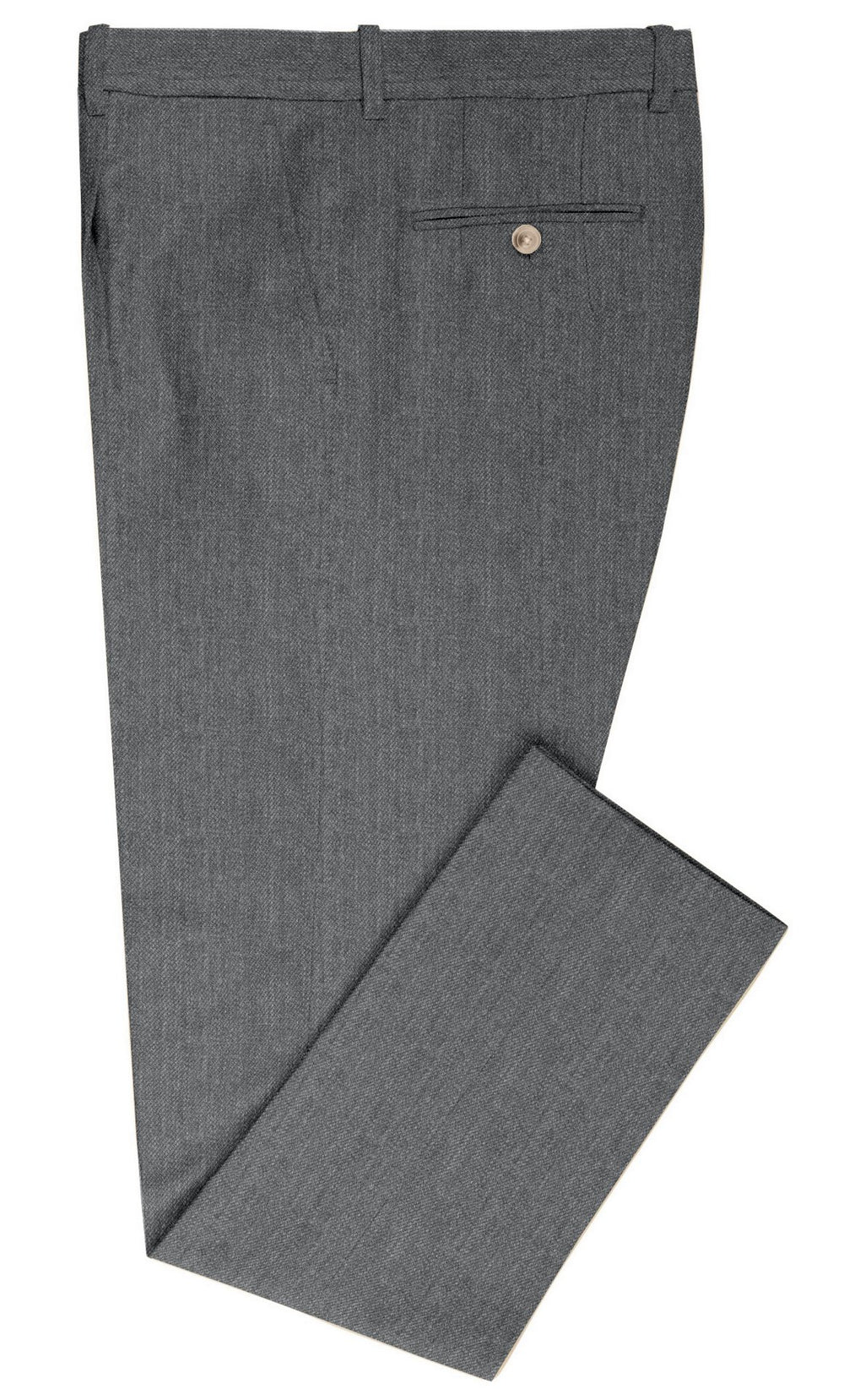 Cerruti: Nickel Grey Dress Wool