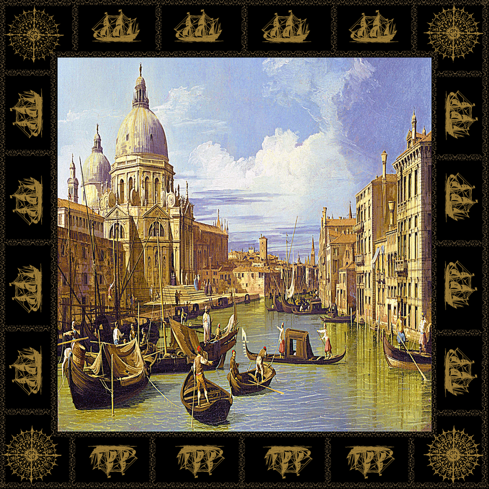 Pocket Square - Canaletto