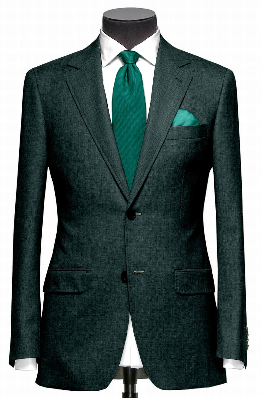 Dugdale Fine Worsted Jacket- Racing Green
