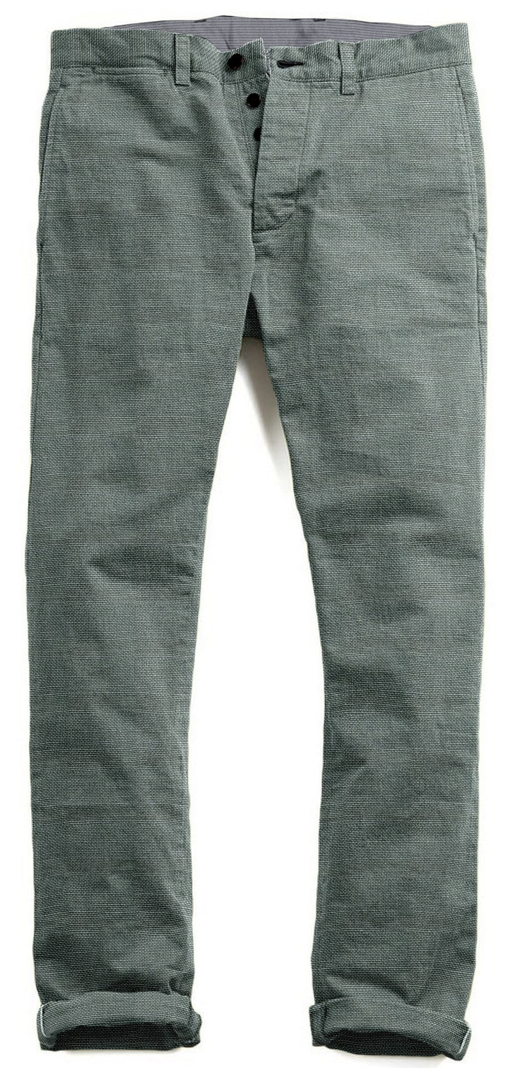Linen Cotton Canvas: Greyish Green