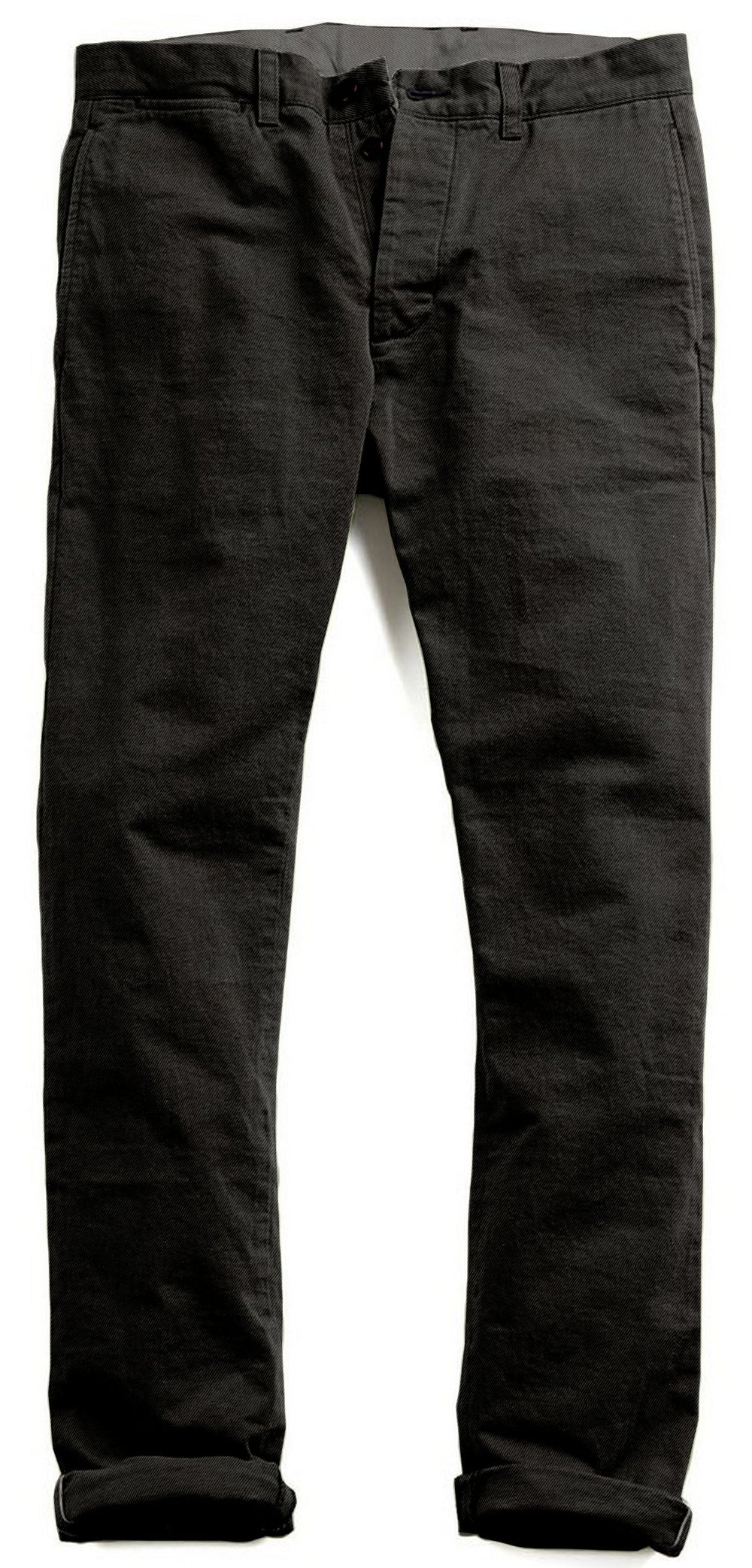 Midnight Grey Twill Dress Pant