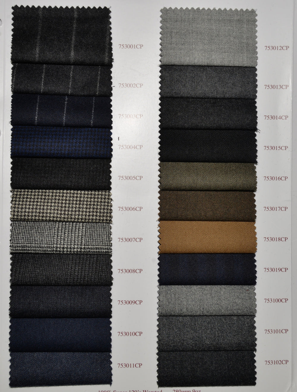 Holland Sherry Classic Worsted Flannel Silver With Grey Flannel