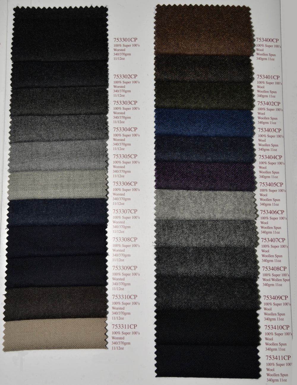 Holland Sherry Classic Worsted Flannel Blue Sprinkle Wth Black (380645876)