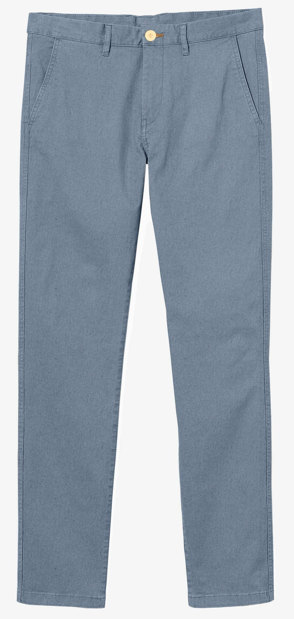 Cotton: Pigeon Blue Twill Chino