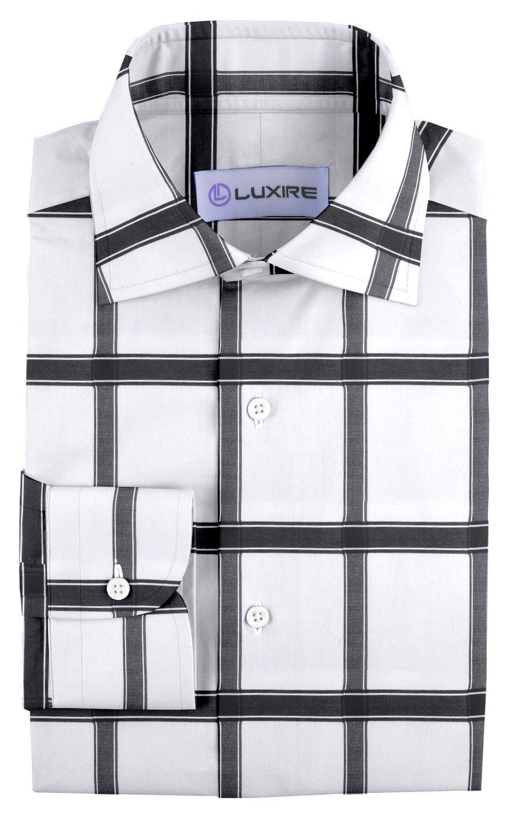 Black Windowpane Checks On White (3804164036)