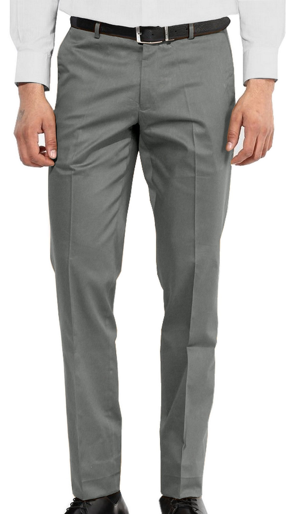 Casual Chino in Jade Green Cotton Linen (1582202748983)