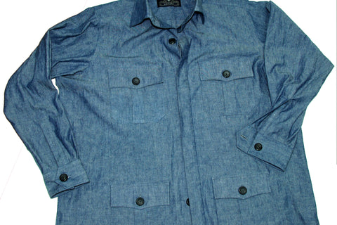 4-Pocket Shirt Jacket